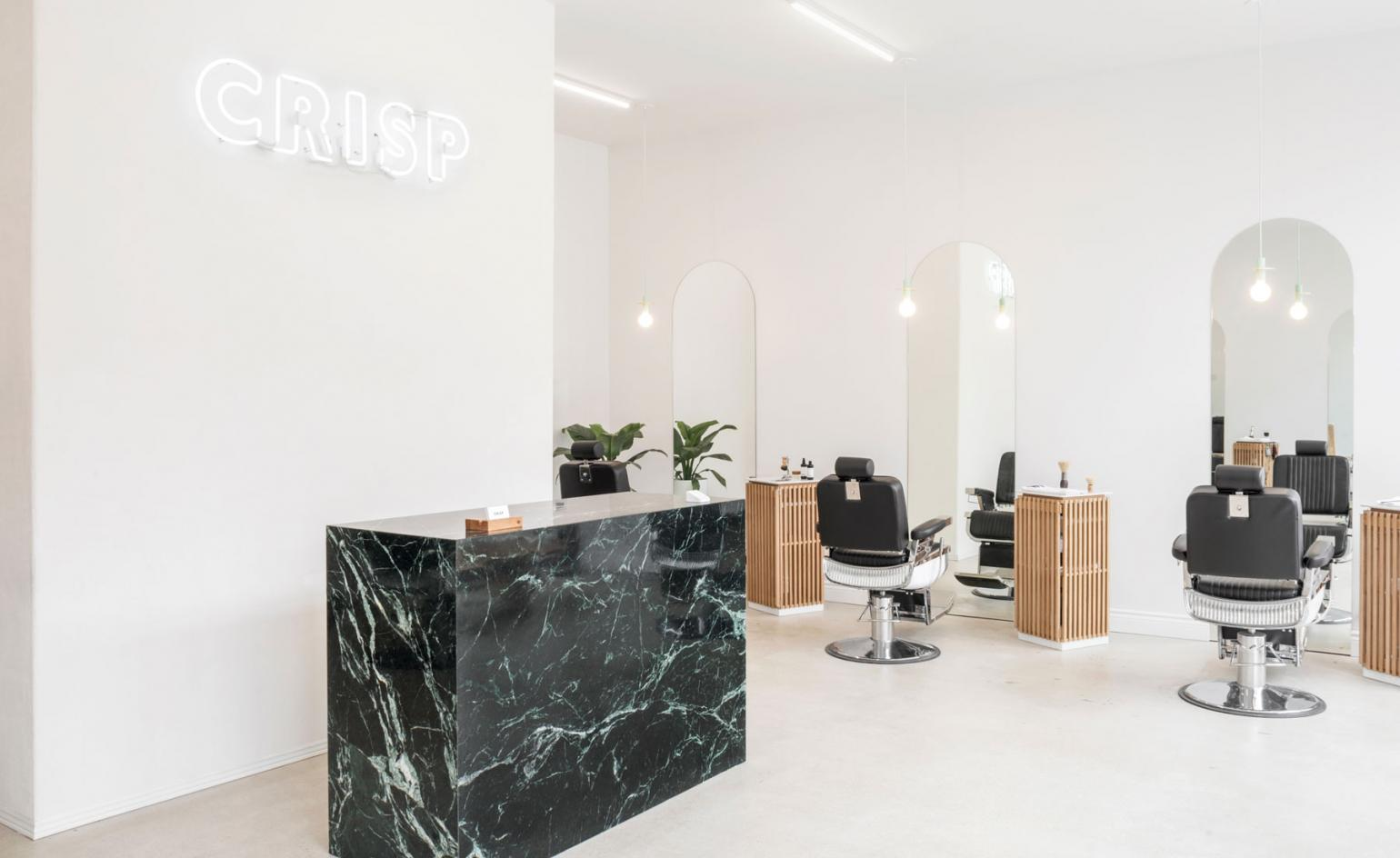 Montreal S Architectural Barber Shop Is A Minimalist Dream