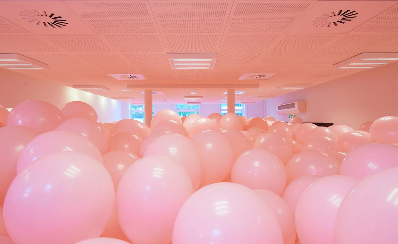 Martin Creed Fills Public Spaces In Denmark With Balloons