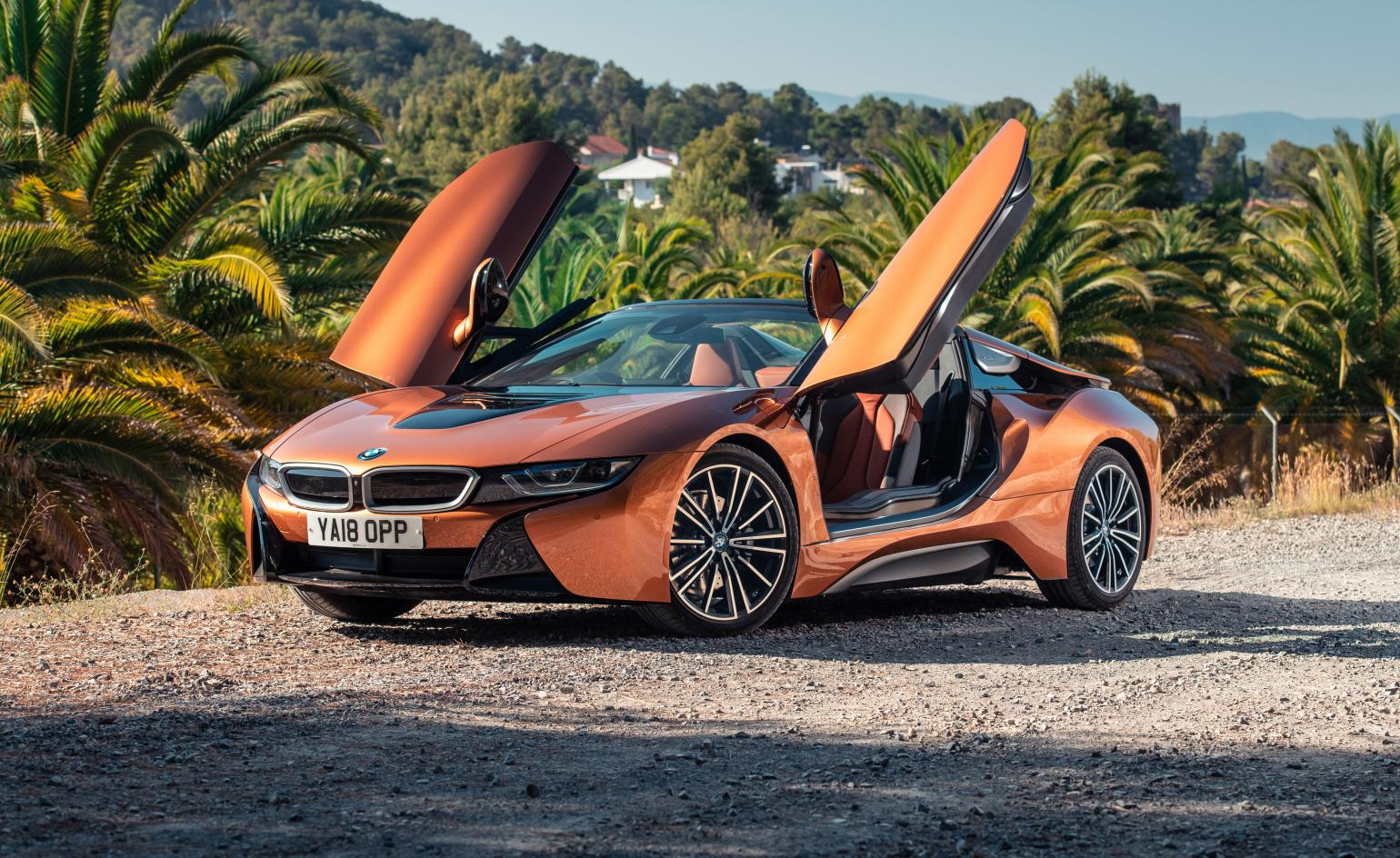 Bmw I8 Roadster Review And Test Drive 2018 Wallpaper