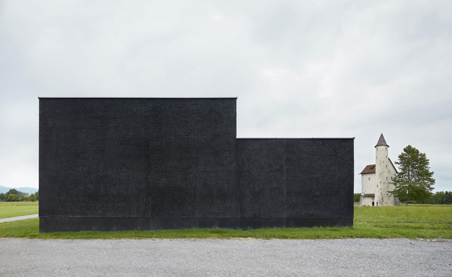 Back to black the best in contemporary black architecture wallpaper