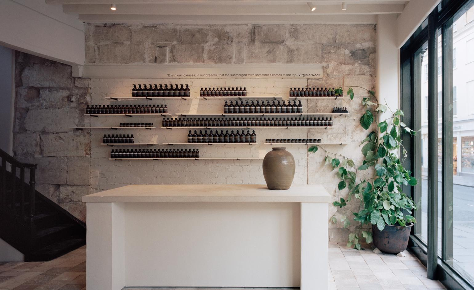 Aesop Renovates Georgian Townhouse In Bath For New Store