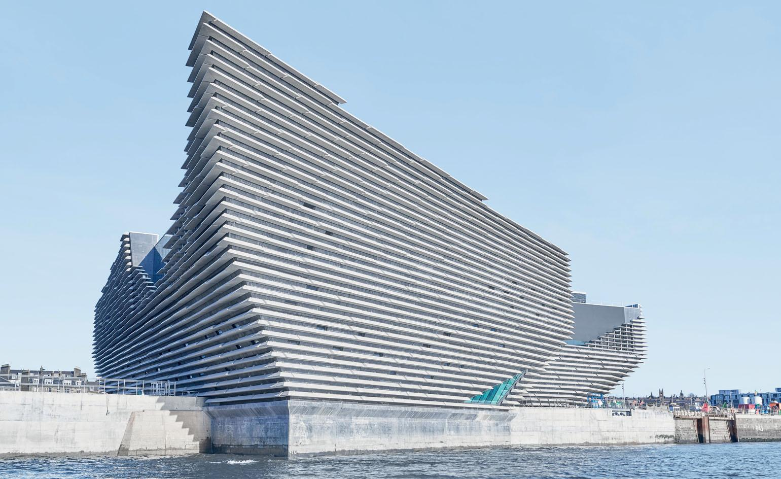 V&A Dundee wins Wallpaper* Design Award for Best New Public Building