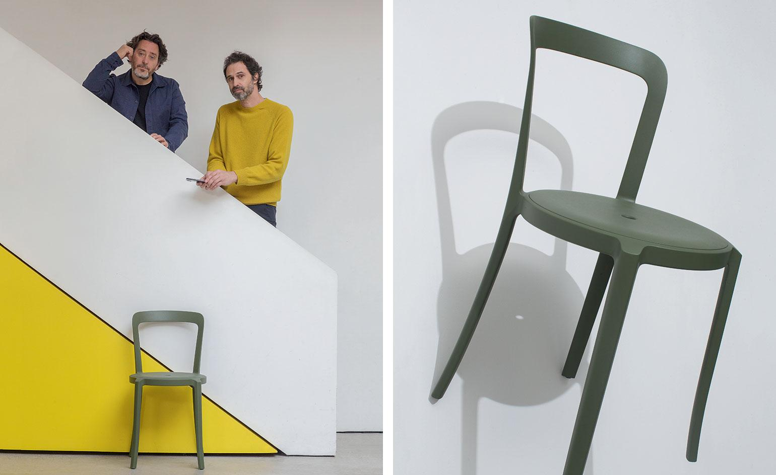 Barber Osgerby And Emeco Chair At Salone Del Mobile