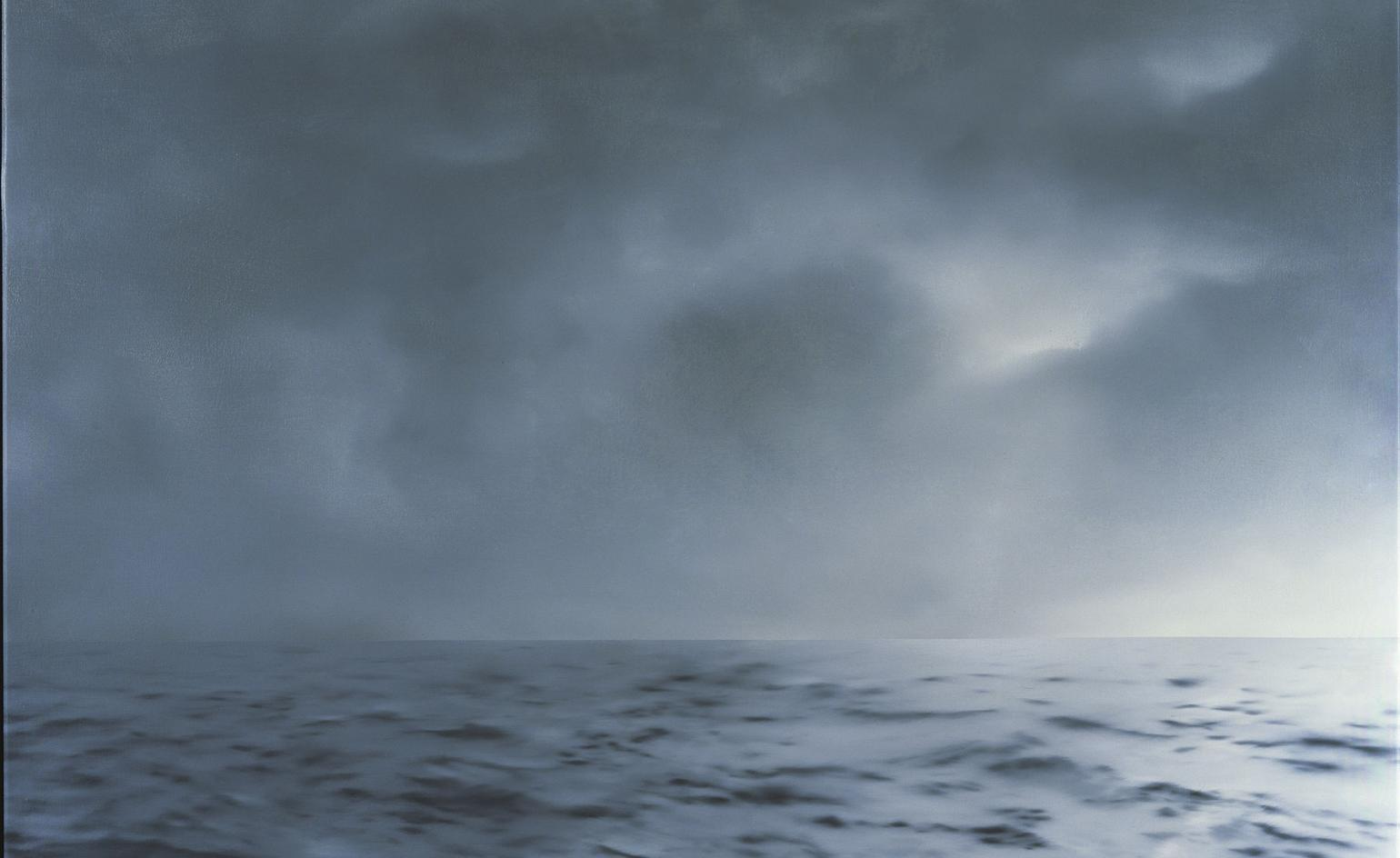 Guggenheim Bilbao offers new perspectives on Gerhard Richter's seascapes