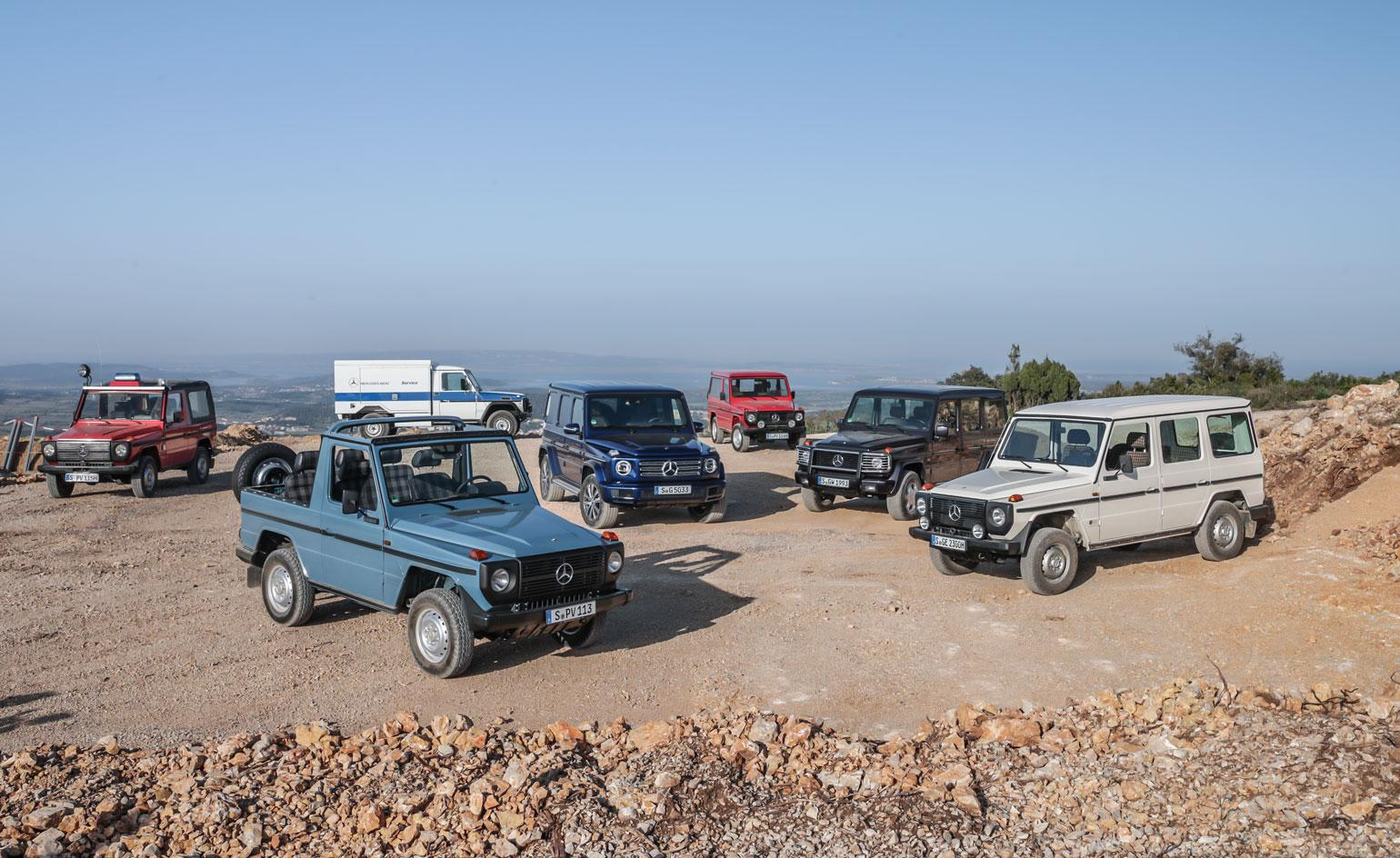 King Of The Off Road 40 Years Of Mercedes G Wagen Wallpaper
