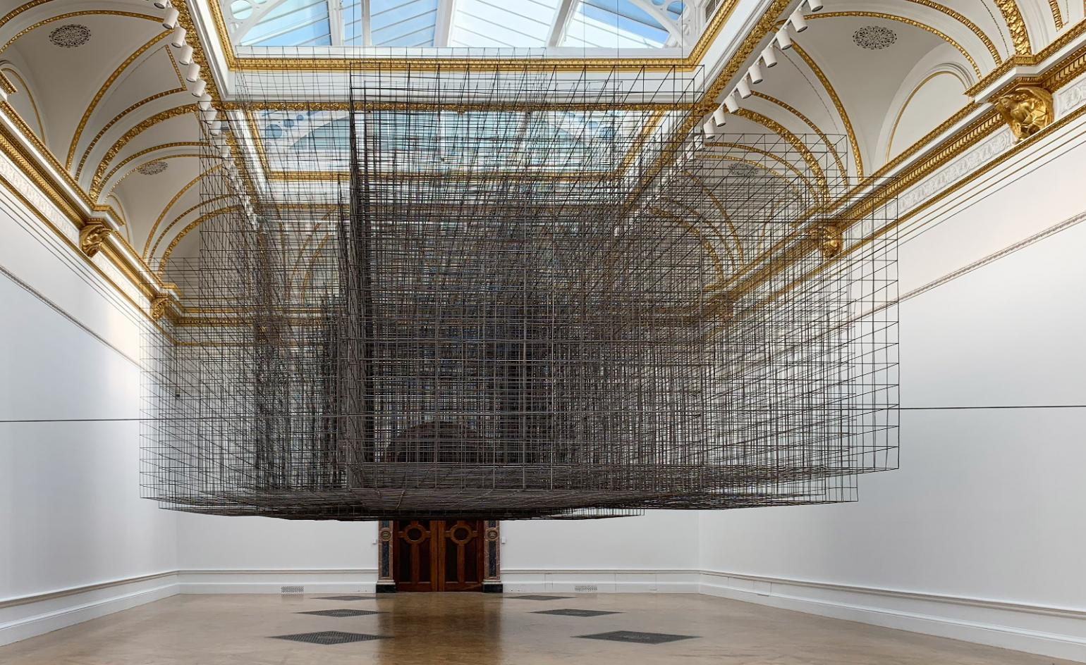 Steel yourself for metal guru Antony Gormley's Royal Academy blockbuster