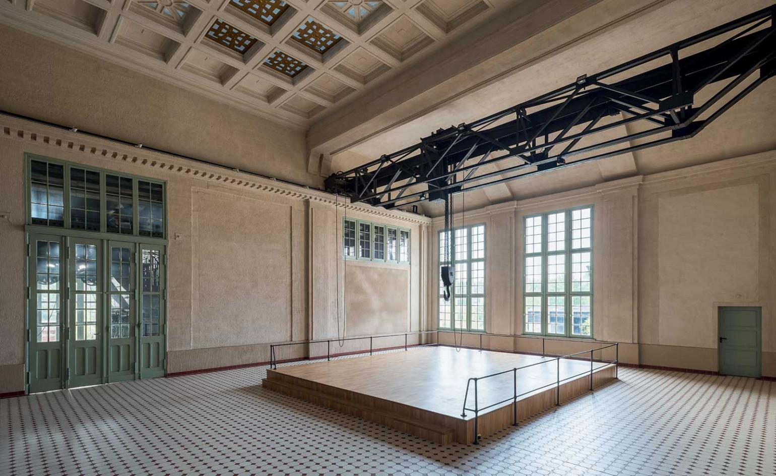 Inside E-Werk, a defunct Berlin power station turned off-the-grid contemporary art centre