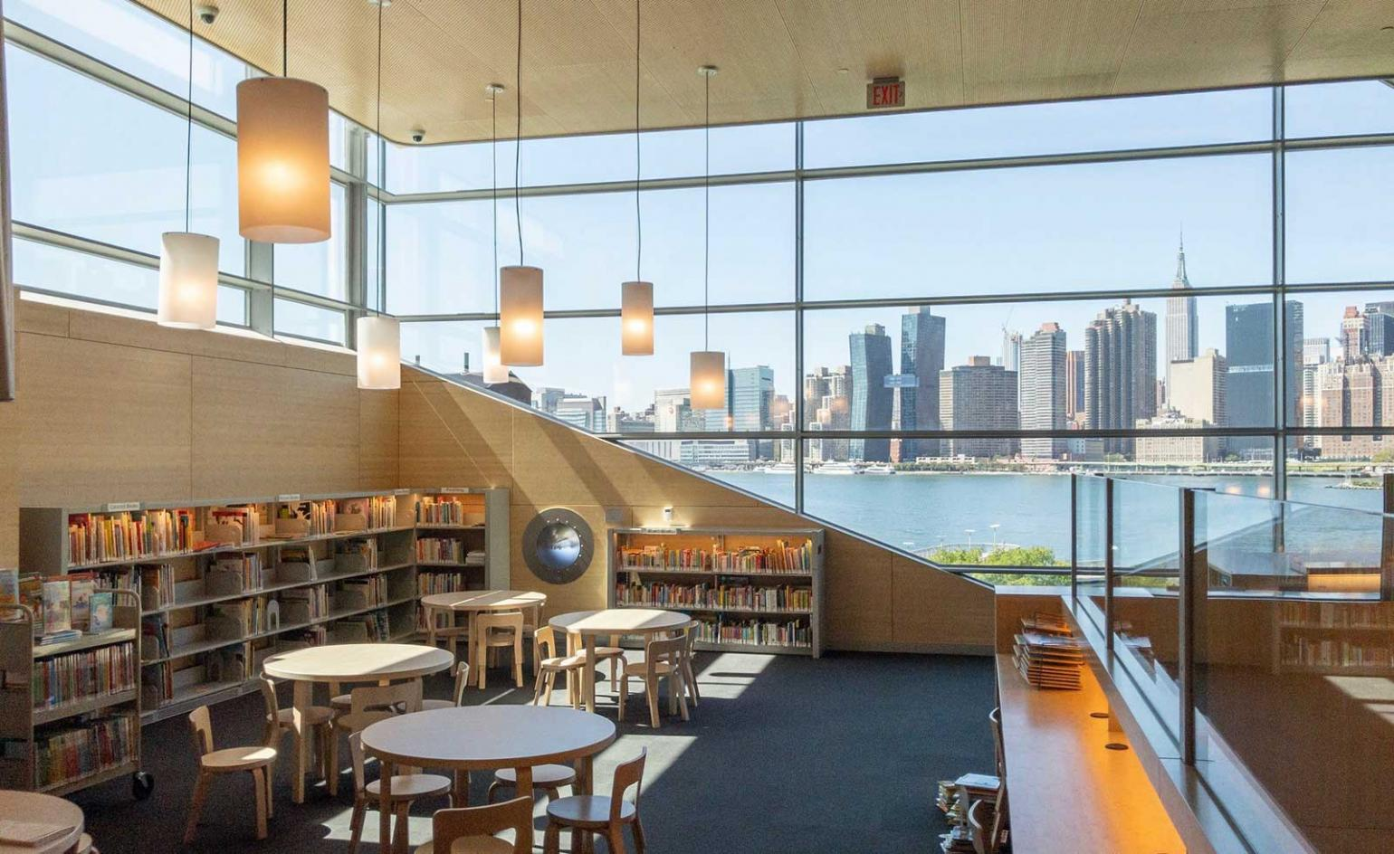 Hunters Point Library By Steven Holl Opens In New York