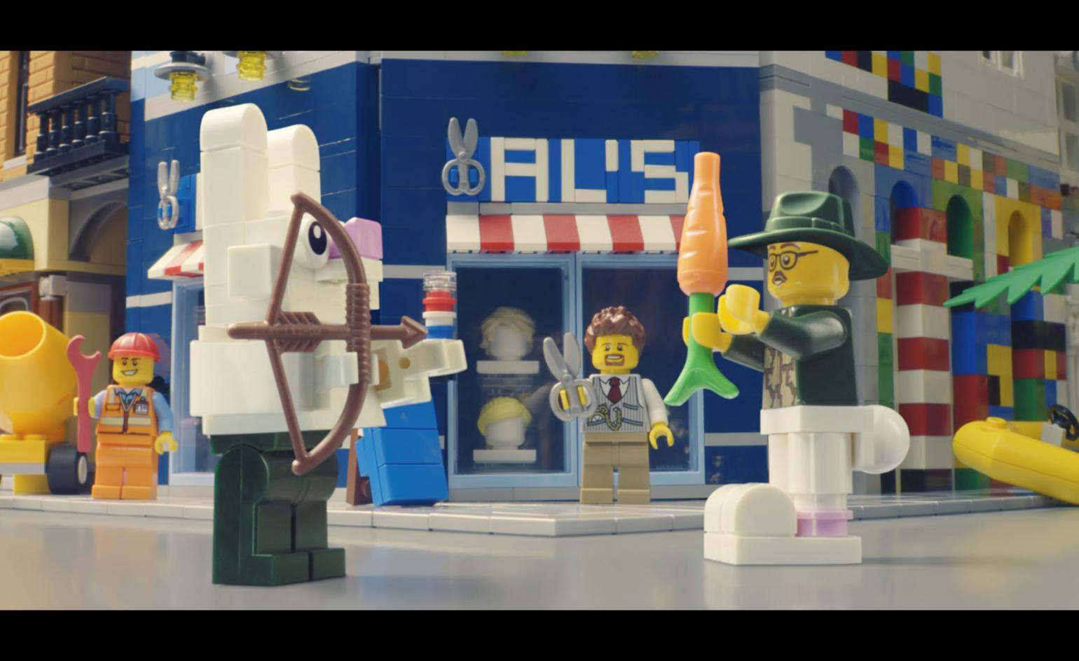 Outside the blocks: Lego thinks differently to inspire creativity
