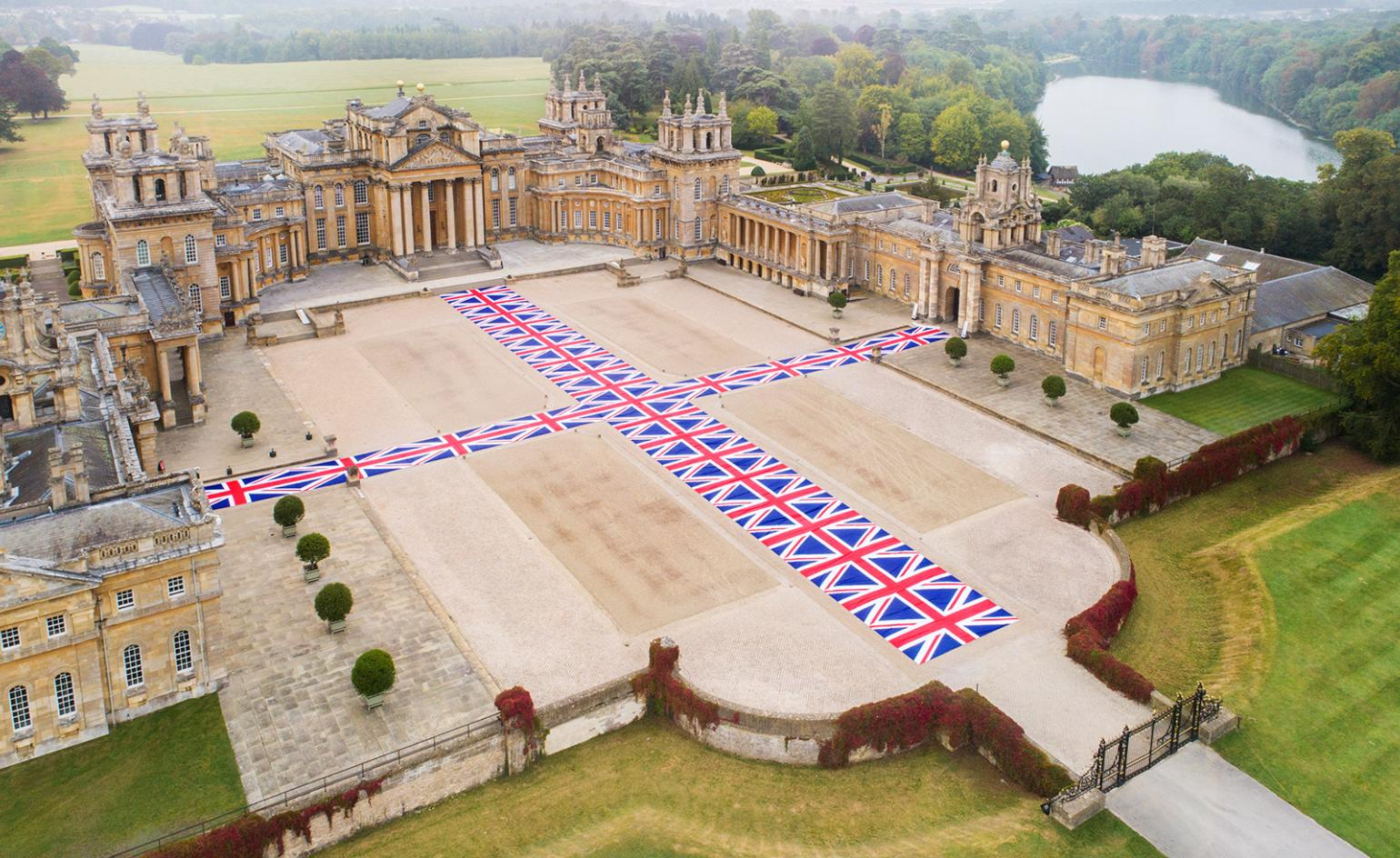 After a brazen heist, the joke's on trickster Maurizio Cattelan at Blenheim Palace