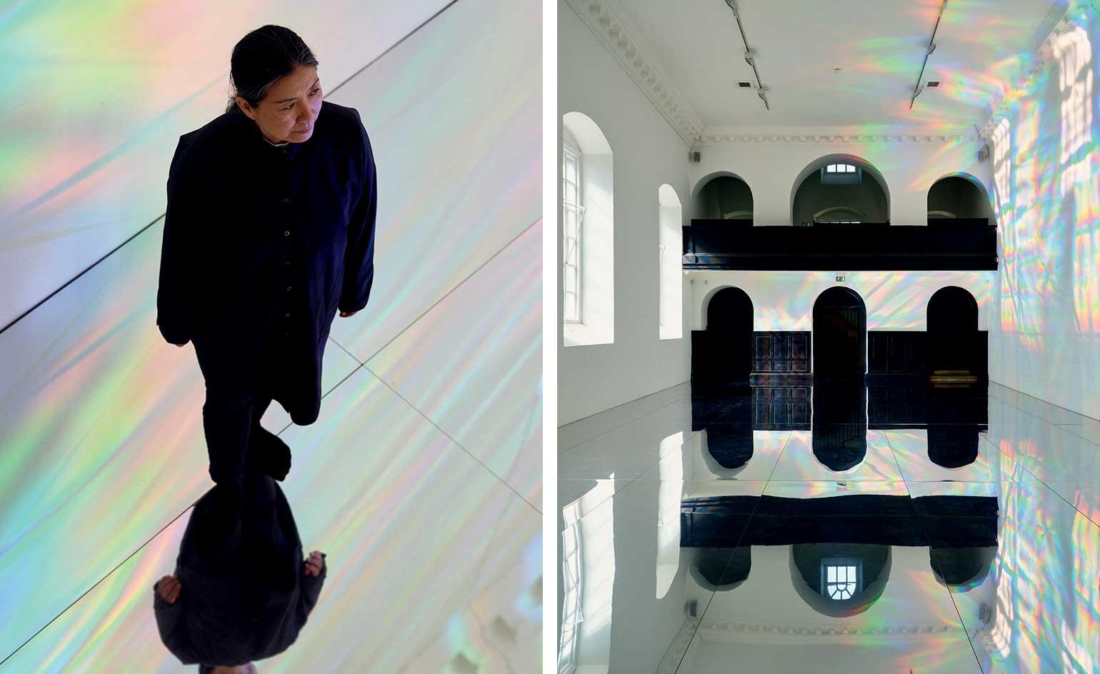 Mirror image: Kimsooja's self-reflective installations take over the French city of Poitiers