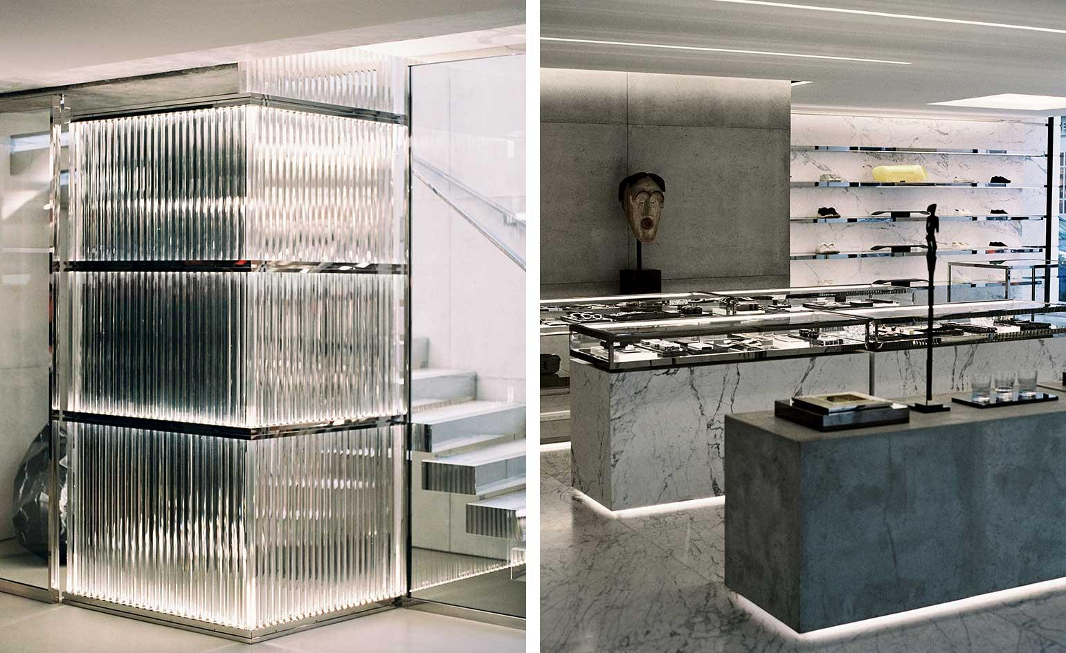 Anthony Vaccarello launches his reimagined retail concept with the new Saint Laurent Rive Droite boutique