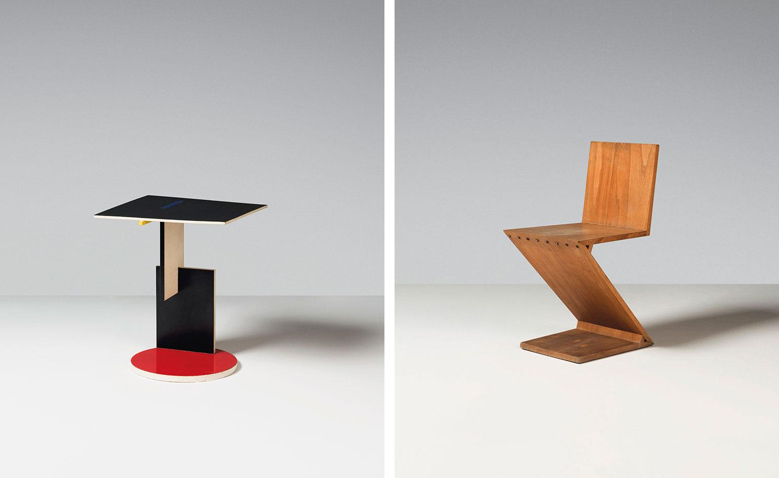 Gerrit Rietveld's collection of Housden furniture goes on sale at Christie's