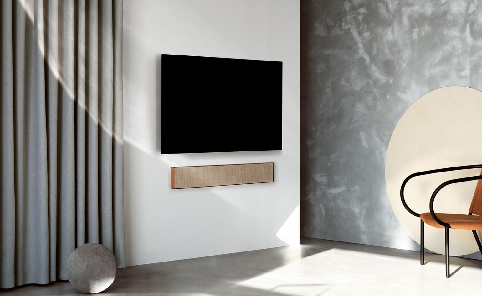 Bang & Olufsen's first foray into soundbars is an artful home audio addition