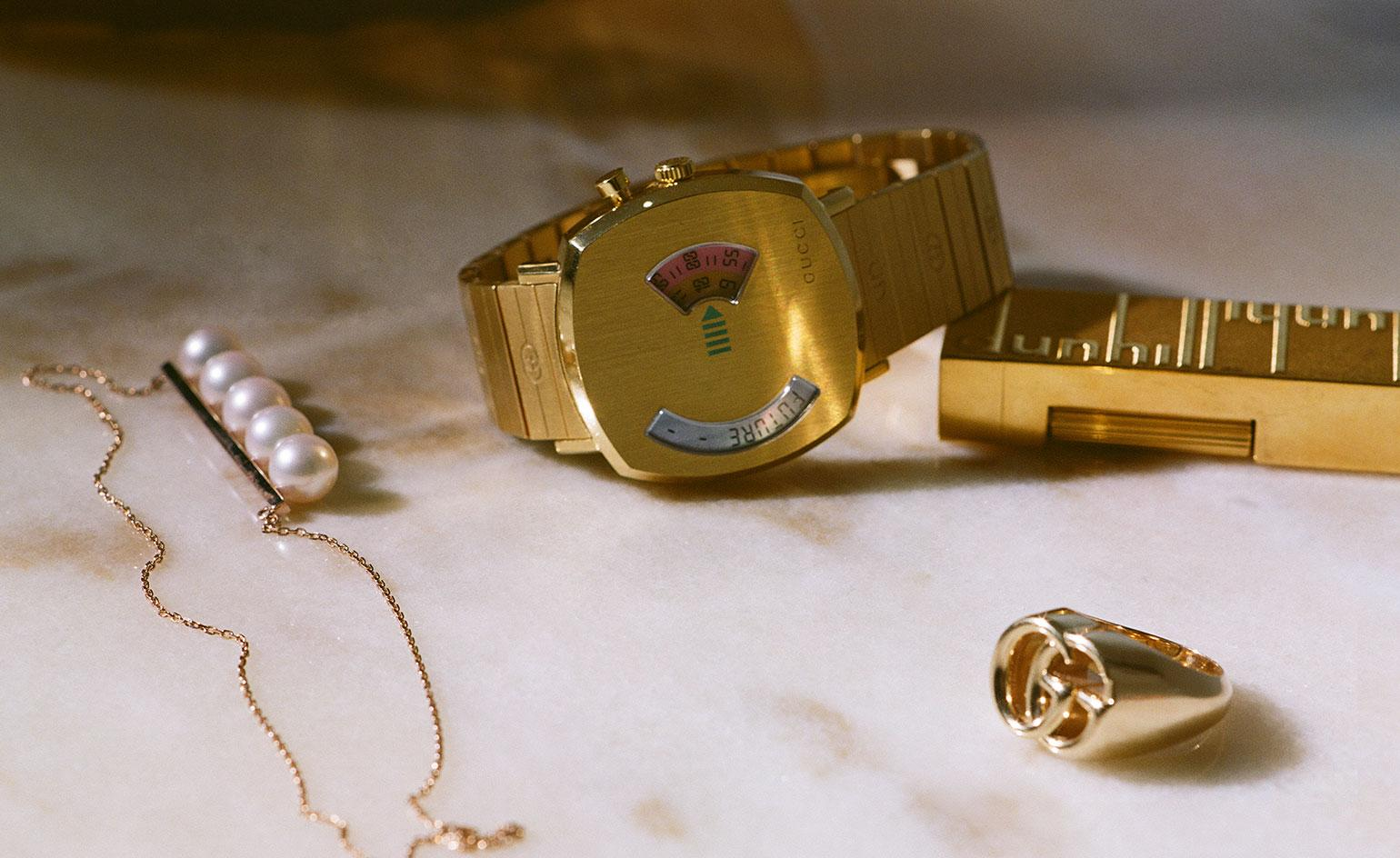 Master mix: Gucci's new watch pays homage to some vintage greats