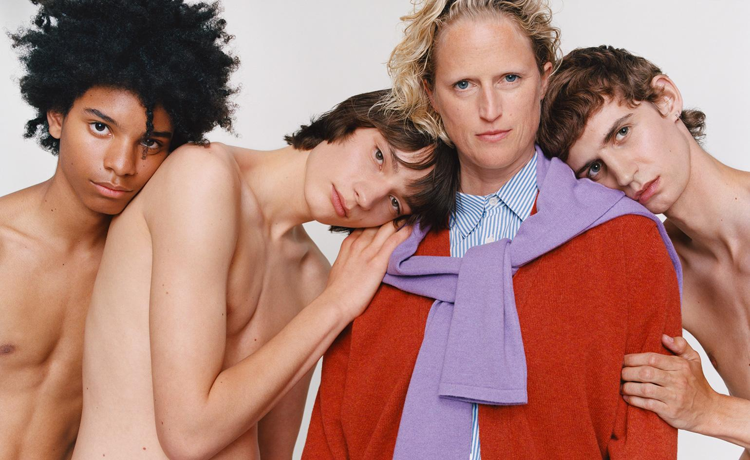 The colourful knitwear label inspired by 1980s cinema screenshots
