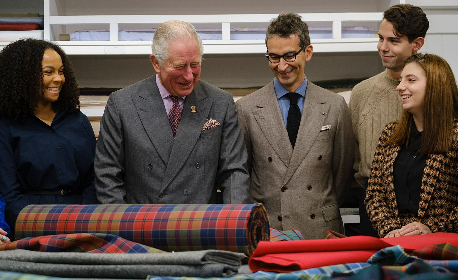 HRH Prince Charles and Yoox Net-a-porter Group unveil artisanal collaboration