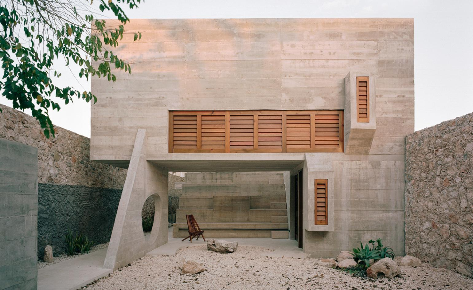Ludwig Godefroy's brutalist Casa Mérida in Mexico