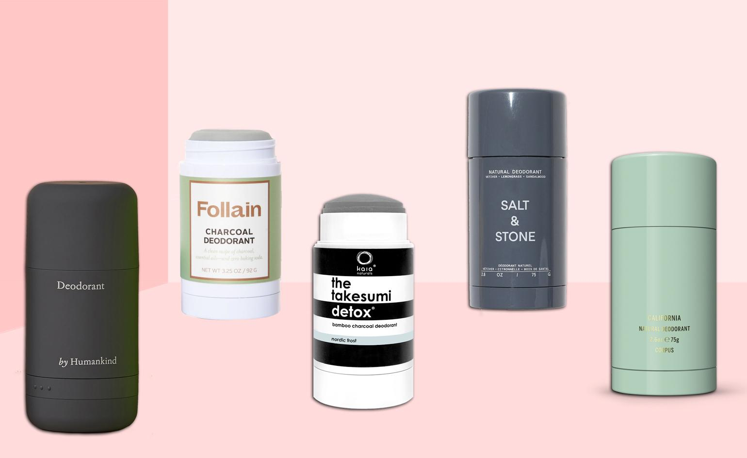 Don't sweat it: natural deoderants with cool packaging