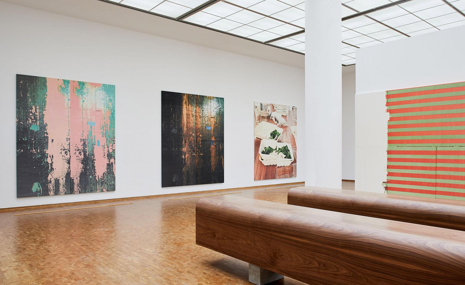 Wade Guyton gives painting a new edge in major Cologne museum survey