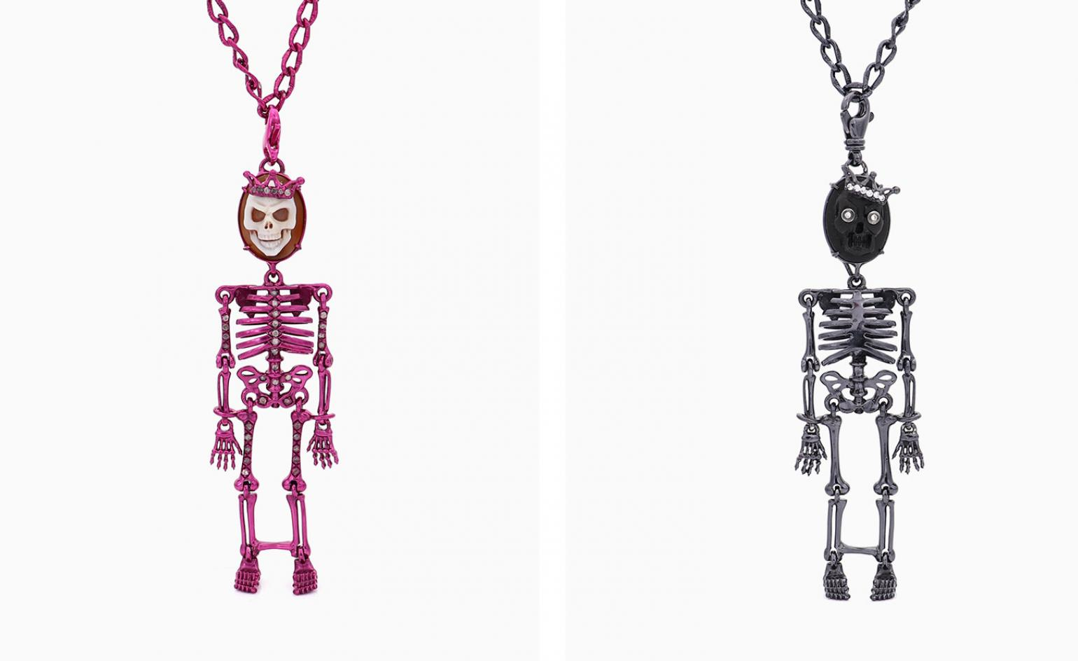 Boo! Spooky jewellery with a contemporary spin