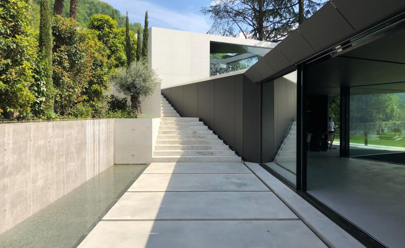 Giacomo Zamboni's Stealth House fits right into its rural Italian location