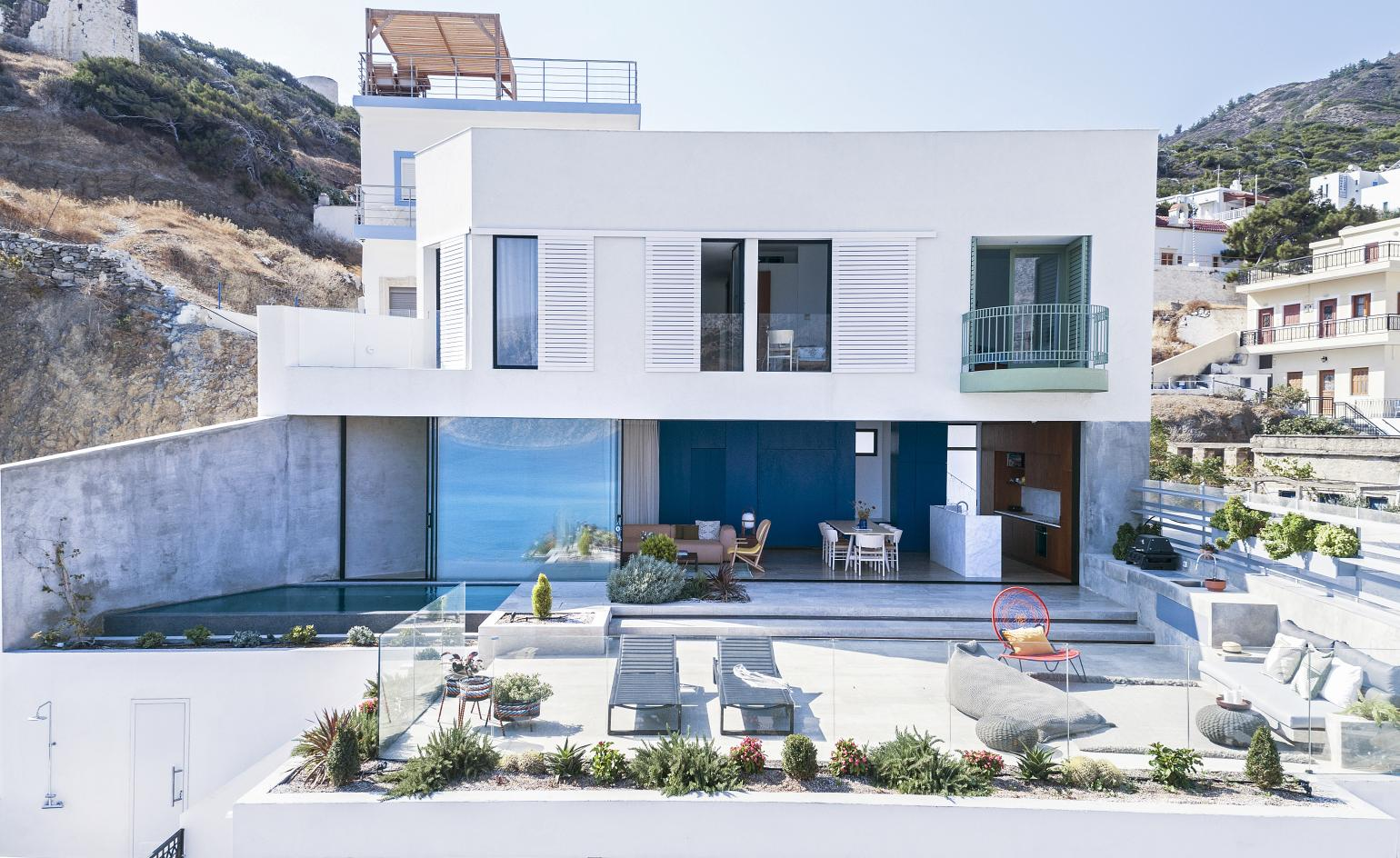 OOAK designs rooftop retreat on the Greek island of Karpathos