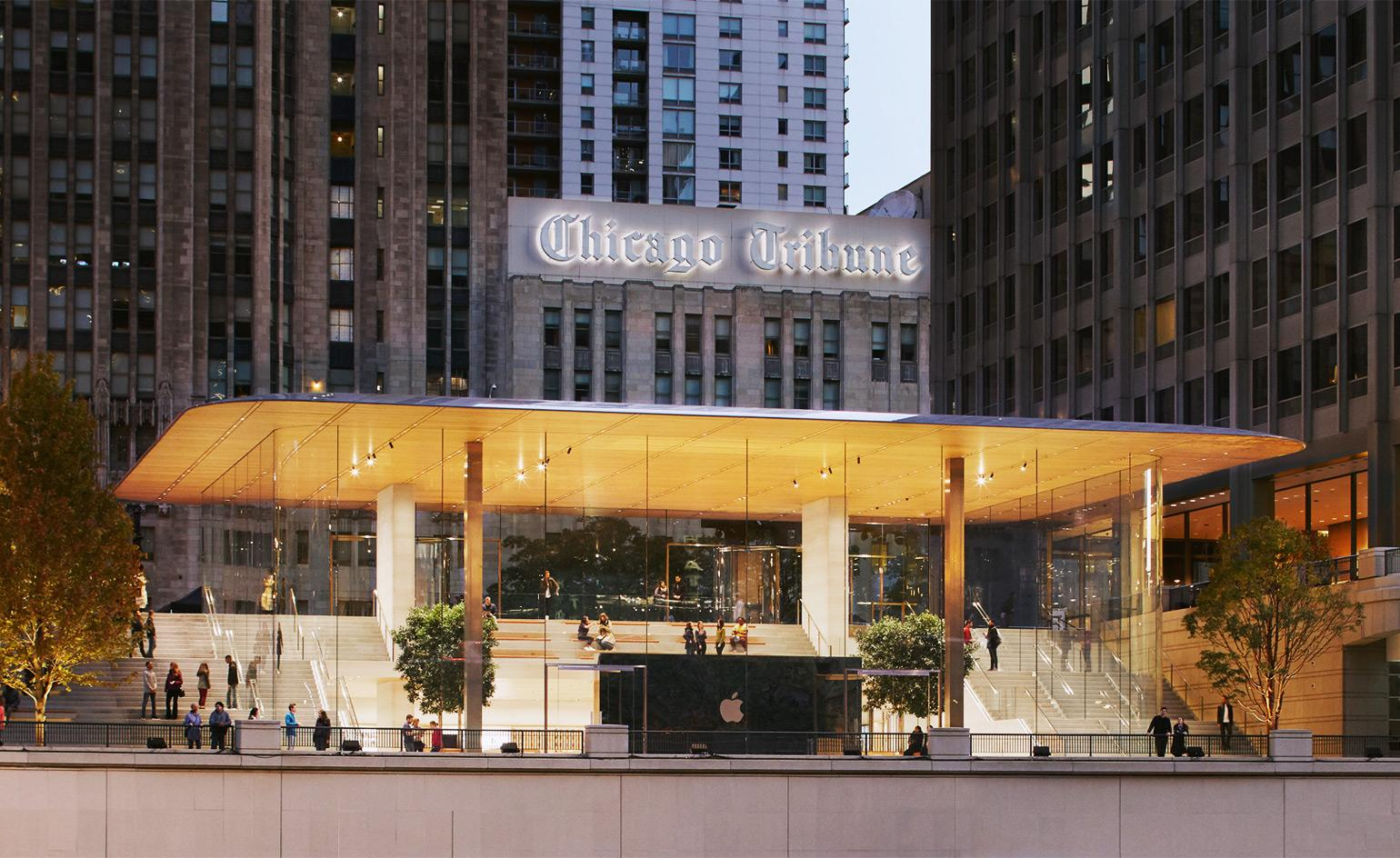 Stefan Behling and Angela Ahrendts on the future of retail at Apple Michigan Avenue