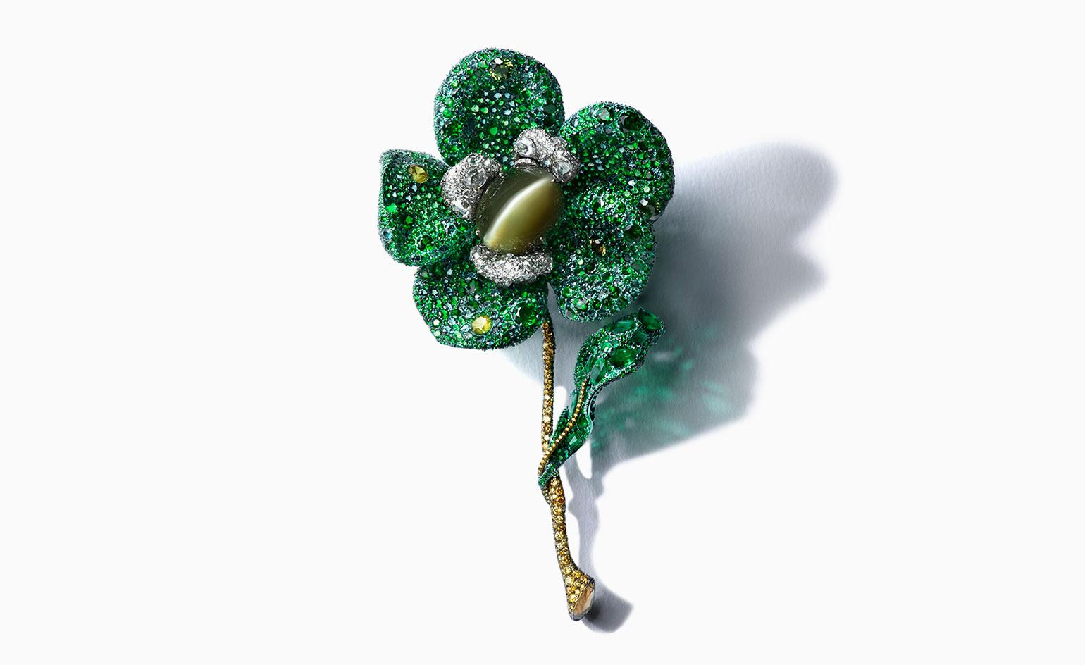 Cindy Chao's 'Greenovia Brooch
