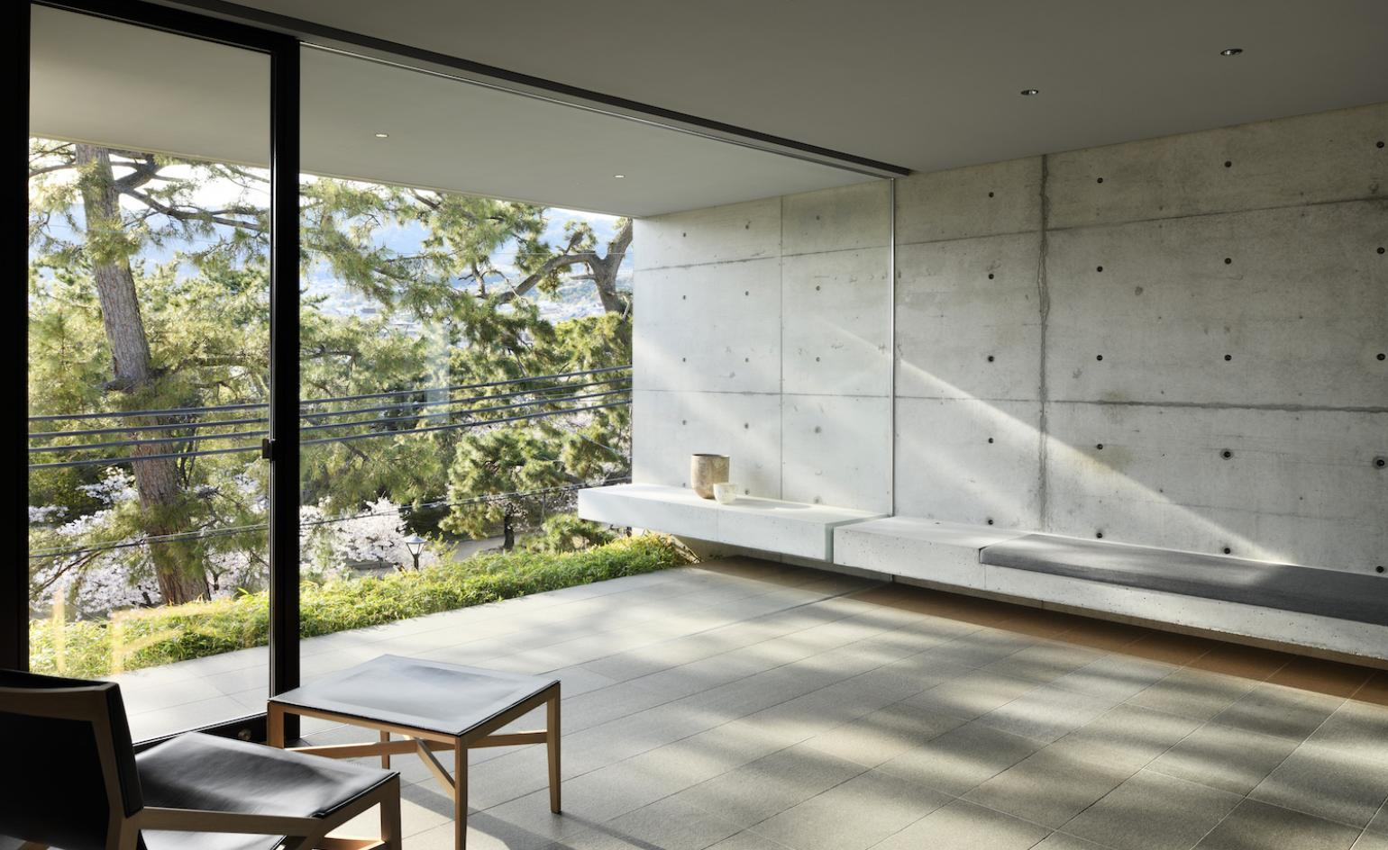 Japanese architect Go Fujita designs a concrete live/work space for himself