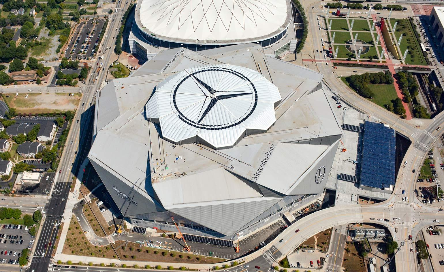 Hok Completes The Mercedes Benz Stadium In Atlanta