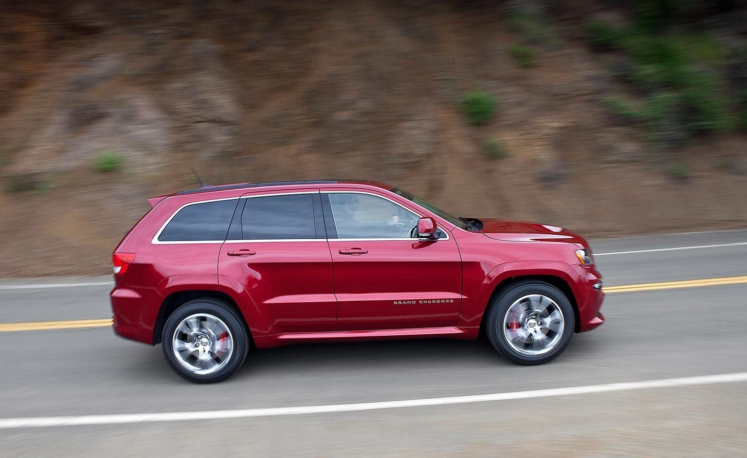 The Jeep Grand Cherokee Srt Is A Big Brash Riff On The