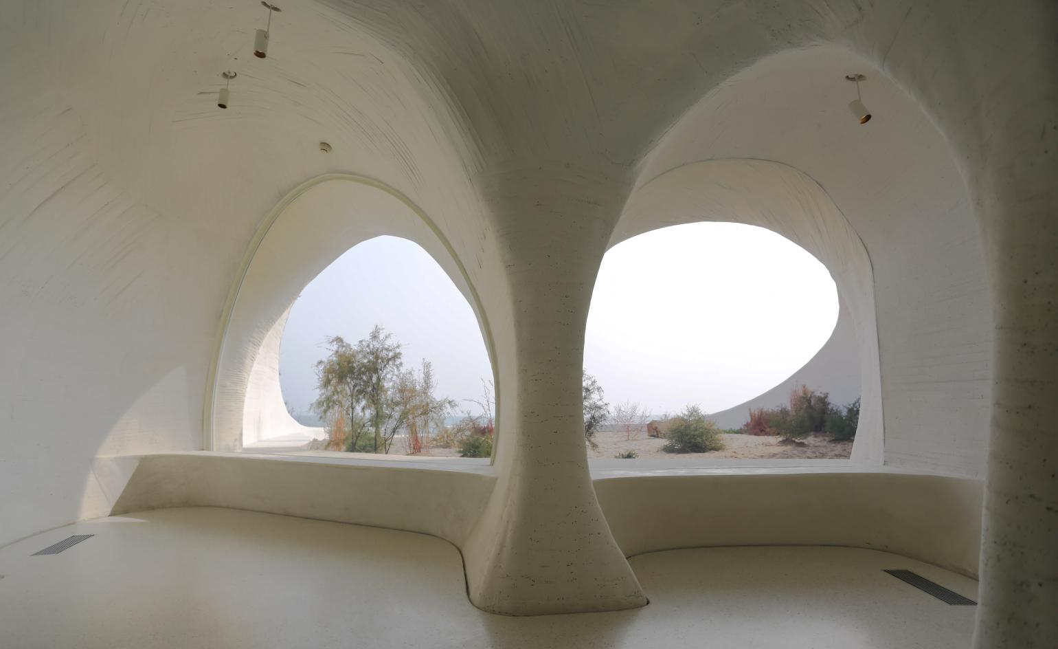 Open Architecture's UCCA Dune is a constellation of concrete caves