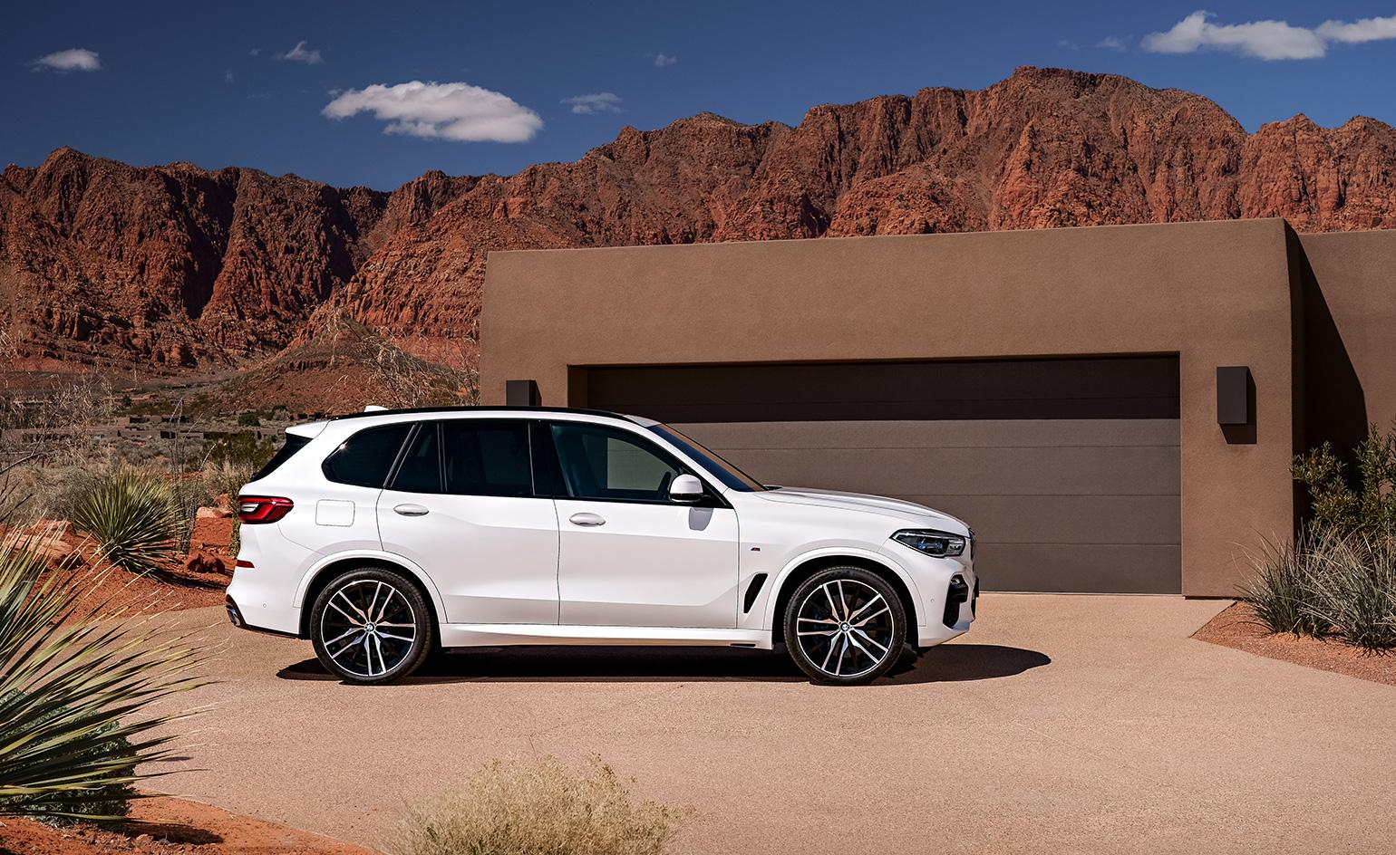 The tech-driven BMW X5 demonstrates diesel in its best light