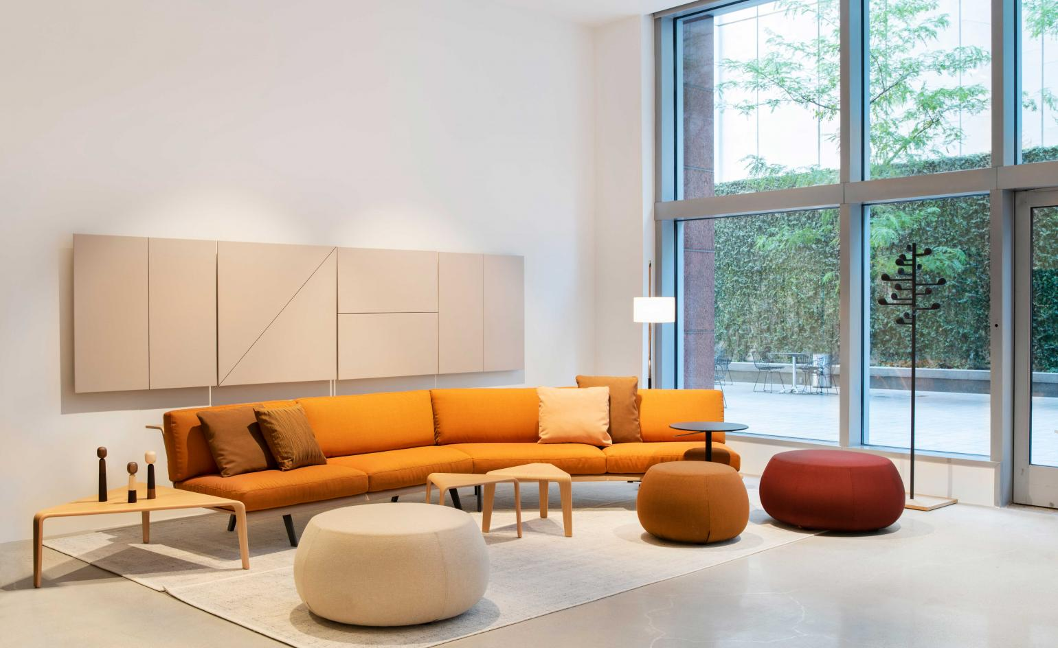 Arper throws colour on Downtown Los Angeles with its first West Coast retail outpost