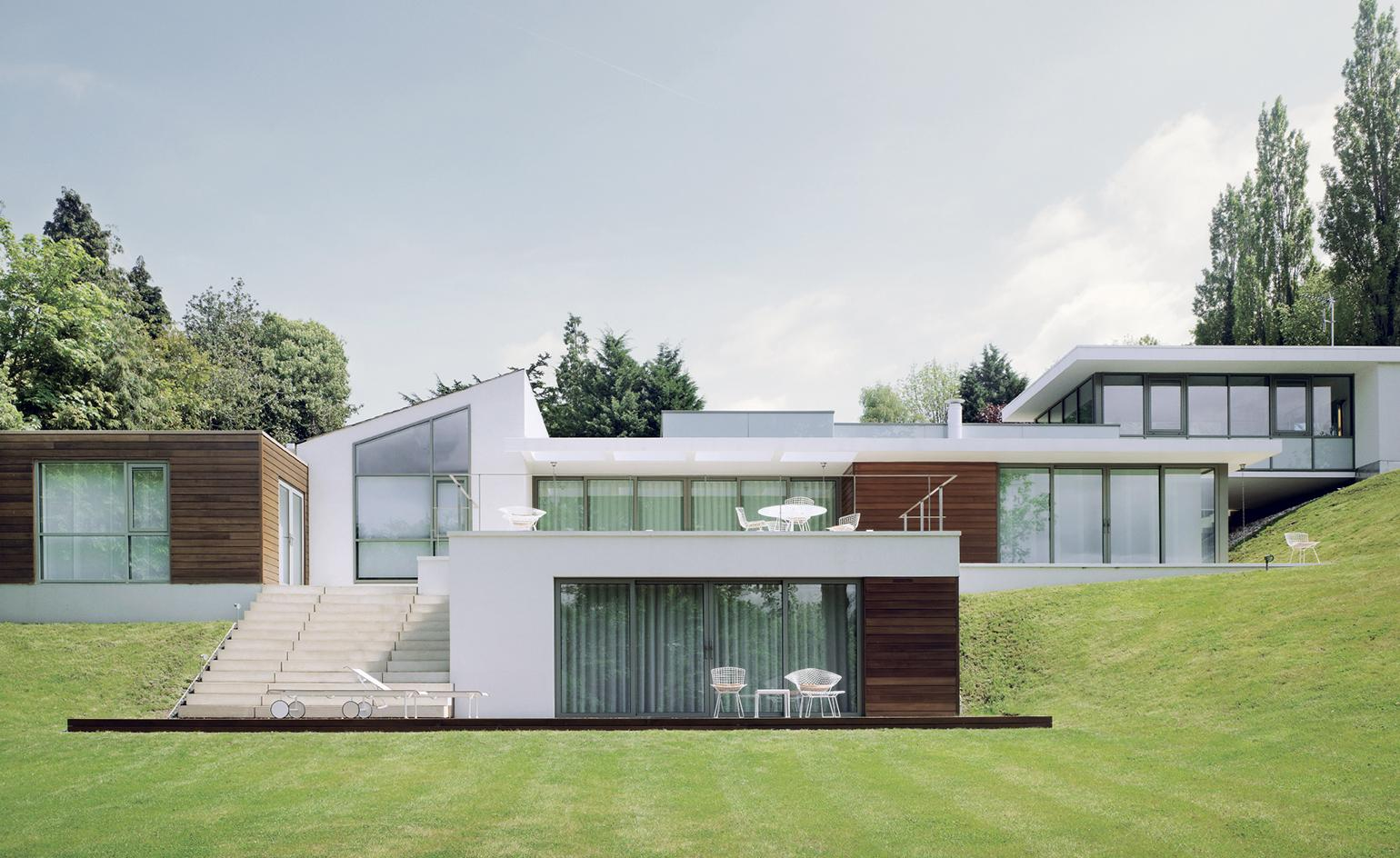 Land Rover design director Gerry McGovern's Warwickshire home is a dazzling slice of LA modernism