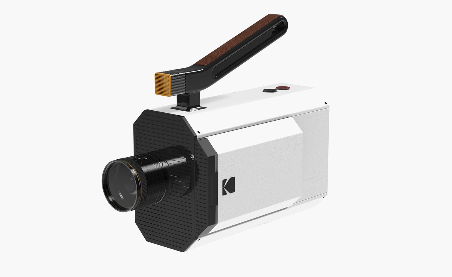 Going digital: Yves Béhar redesigns iconic Kodak Super 8 film camera