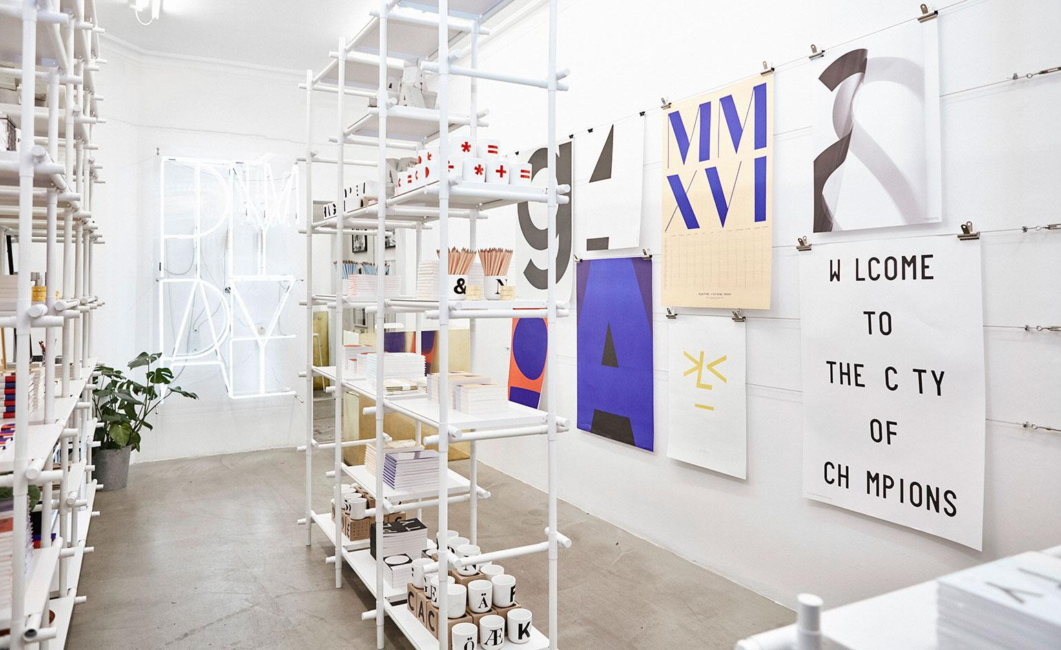 Bold buys: Playtype pops up in London's Aram Store