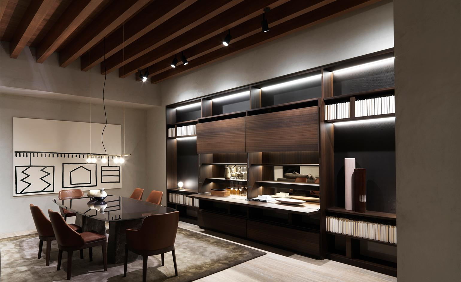 A furniture retail haven in New York nods to the architecture of Italian palazzos