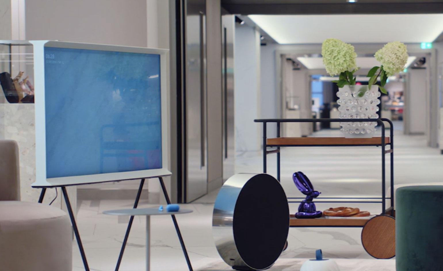 Discover a nexus of contemporary design and cutting-edge tech at Harrods