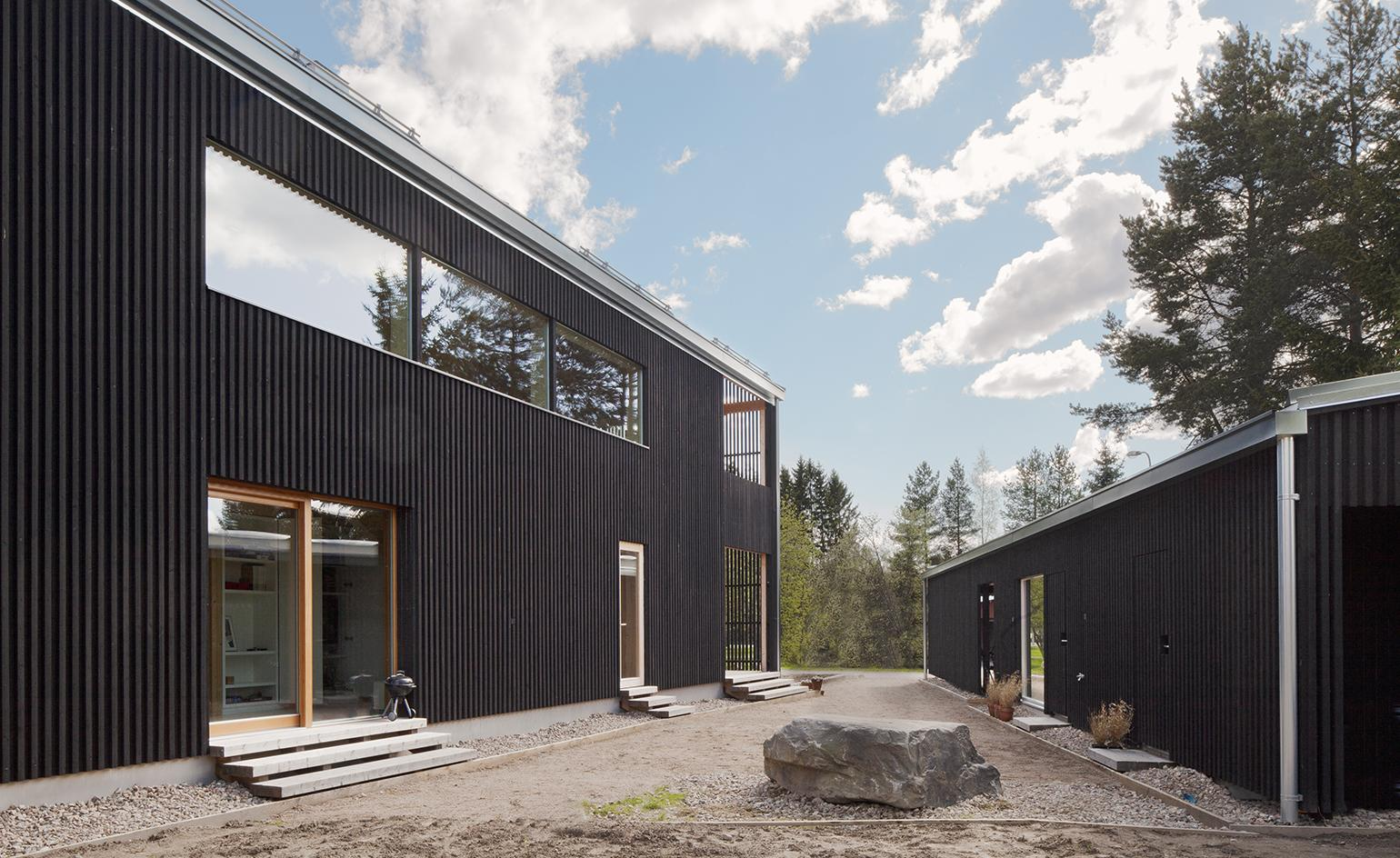 Timber treasure: architect Teemu Hirvilammi completes his family home in Finland