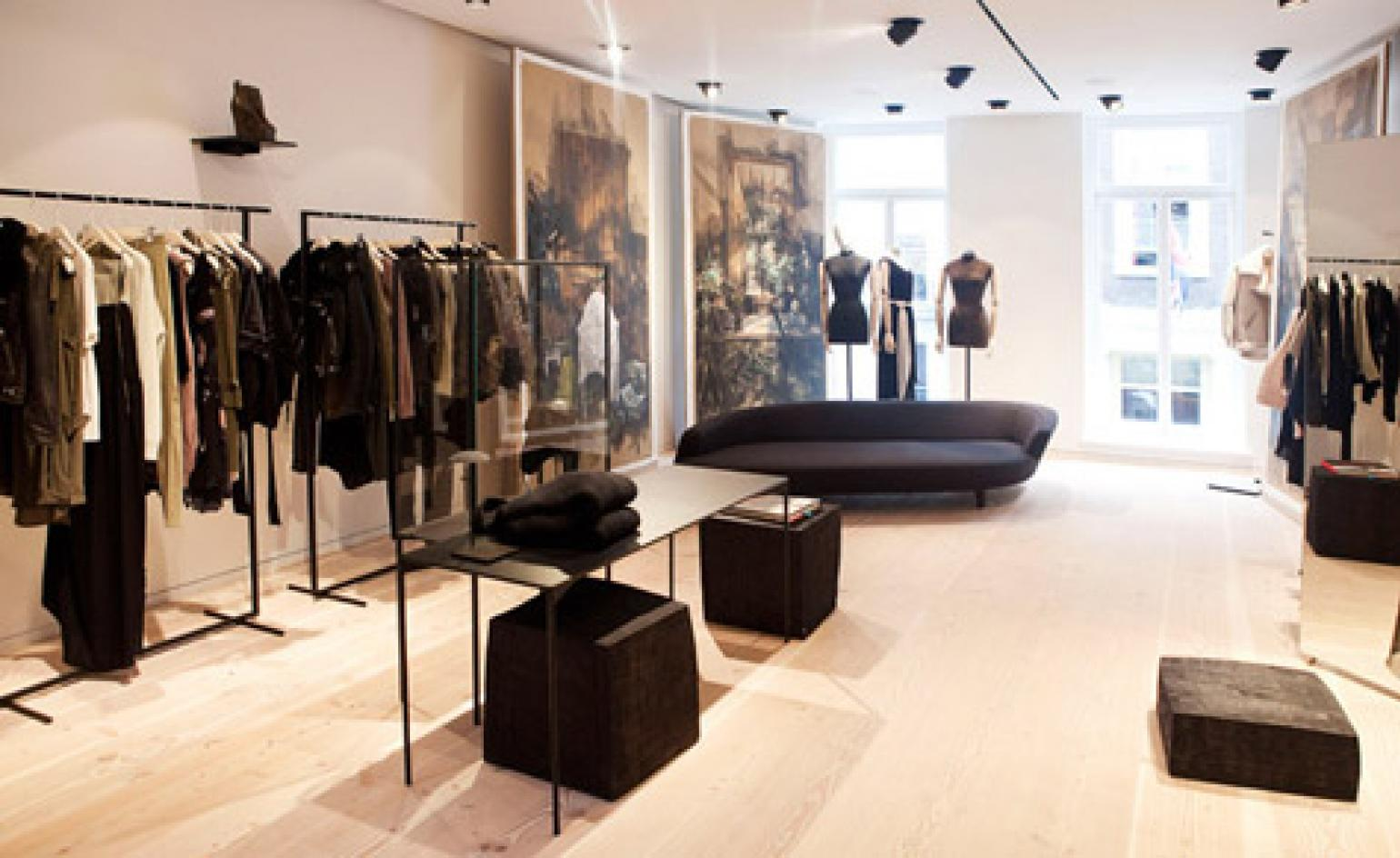 4dc9dbb2499c A tour of the new Acne Studio in London s Mayfair   Wallpaper