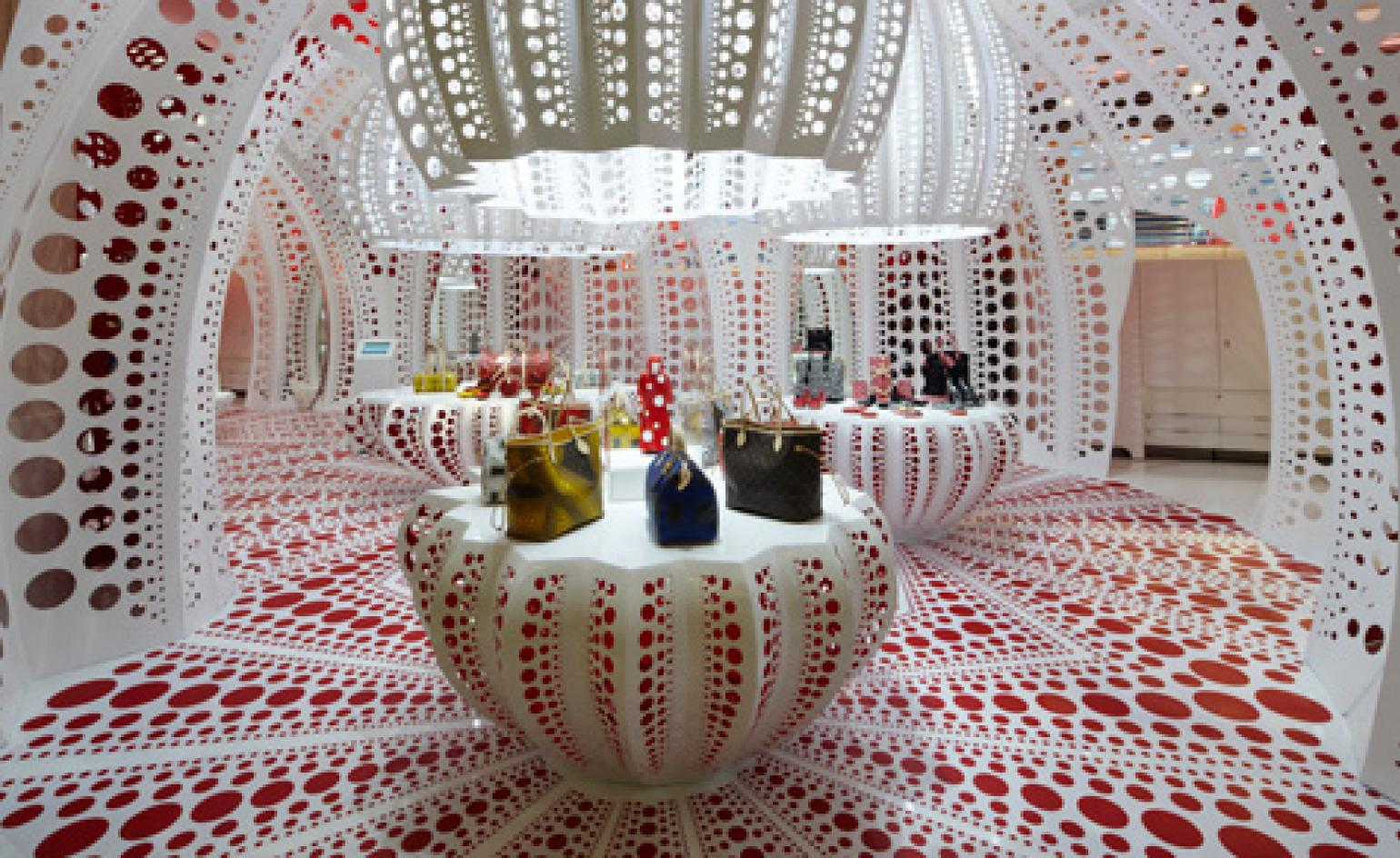 6f4f643b89d Louis Vuitton and Yayoi Kusama extend collaboration to Selfridges concept  store
