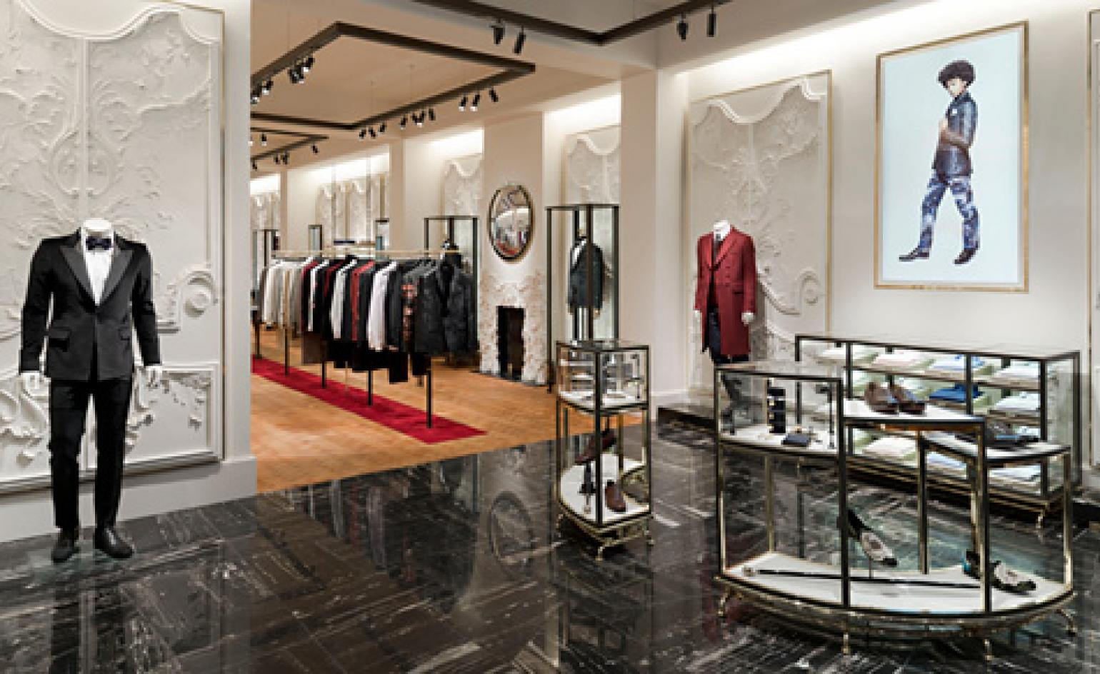 Alexander Mcqueen Opens First Menswear Store On Savile Row