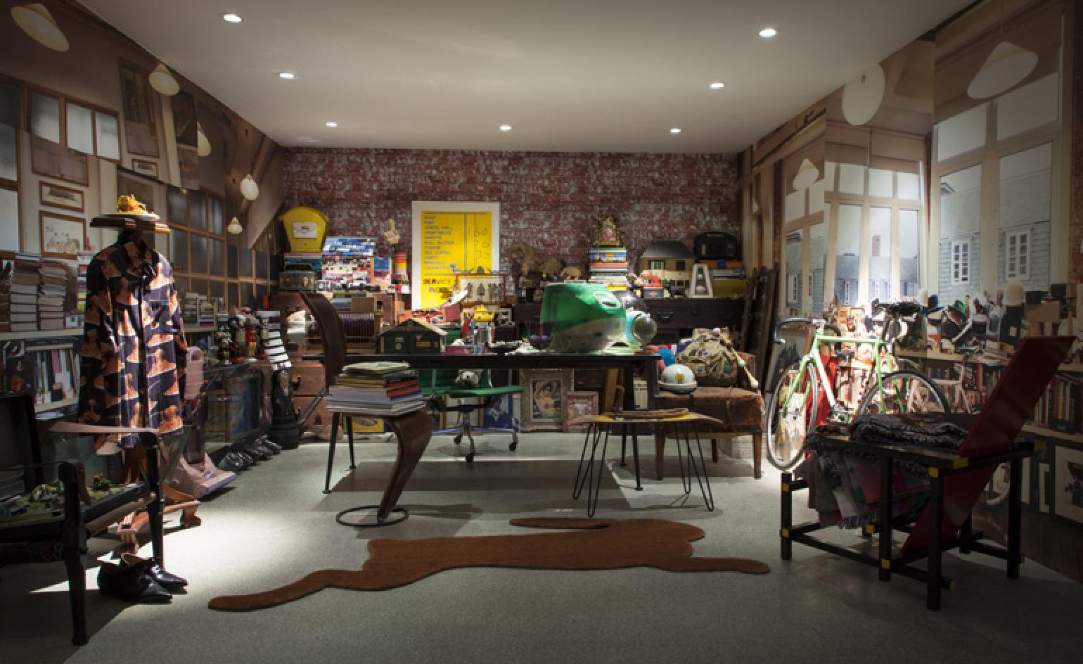 Paul Smith Takes Us On A Tour Of His Recreated HQ At
