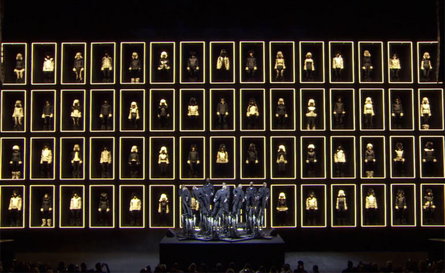 sports shoes 7e657 07275 Video: Moncler Grenoble's operatic New York Fashion Week A/W ...