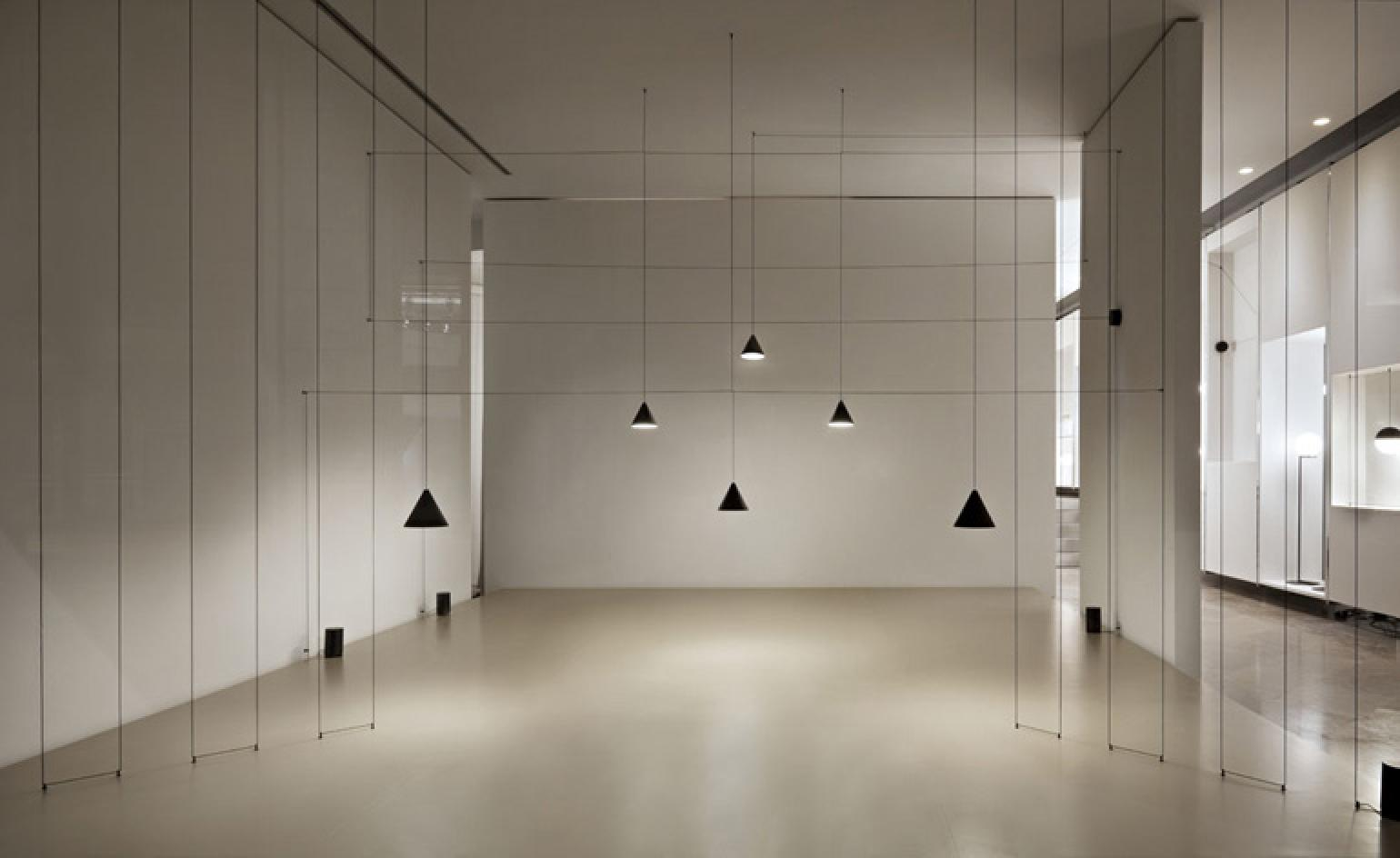 Michael Anastassiades' String Lights hit Flos stores ...