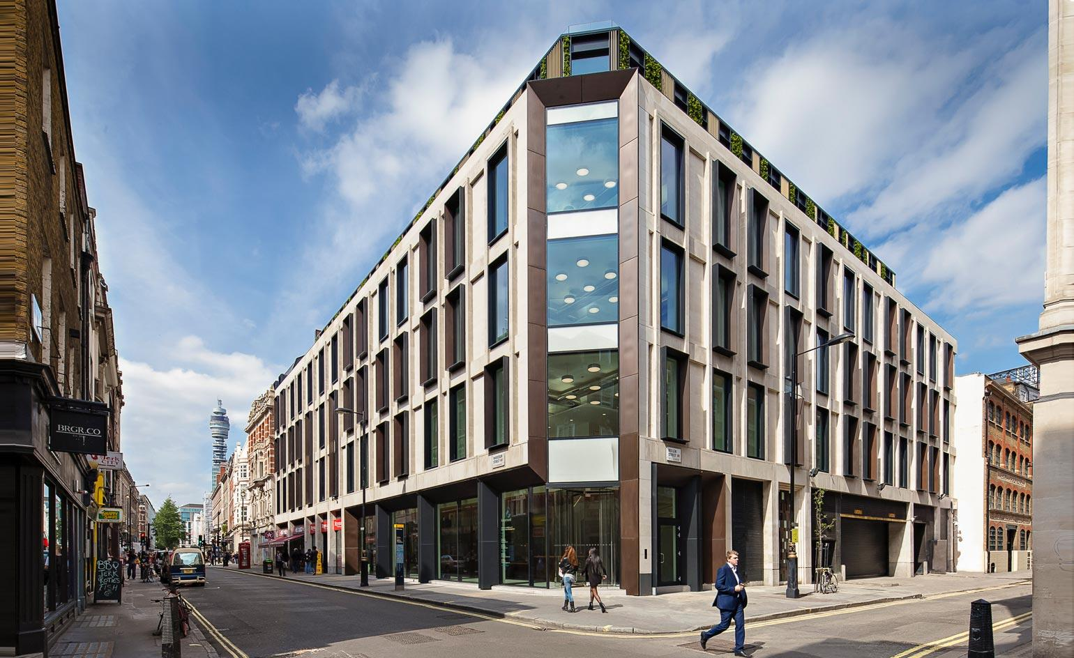 The new Ampersand Building in Soho is the result of a creative collaboration