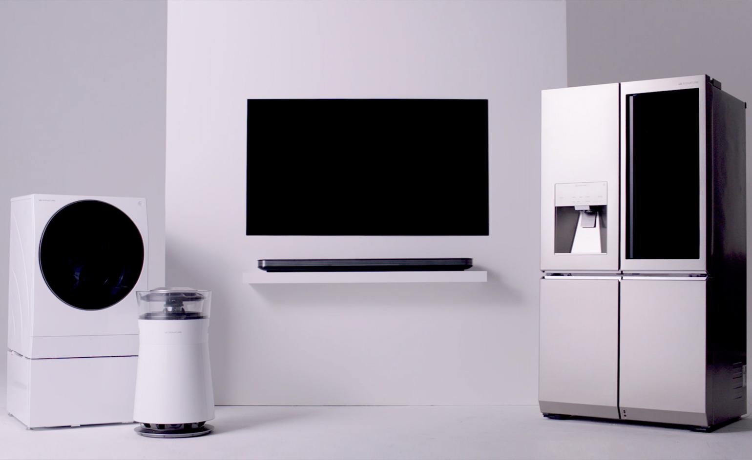 Tv Meubel Led.The Lg Signature Products See Form Meets Function