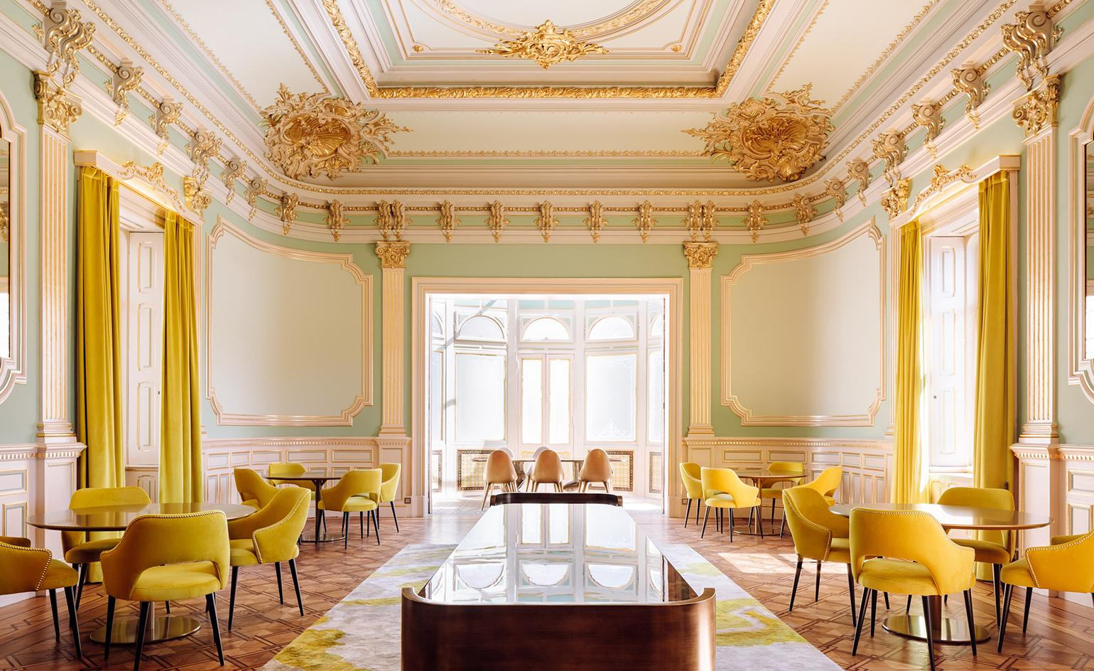 A faded stately home on Porto's seafront has been transformed into Vila Foz
